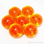 Animation DragonBall 7 Stars Crystal Ball 4.5cm New In Box Dragon Ball Z Complete set toys 7pcs/set