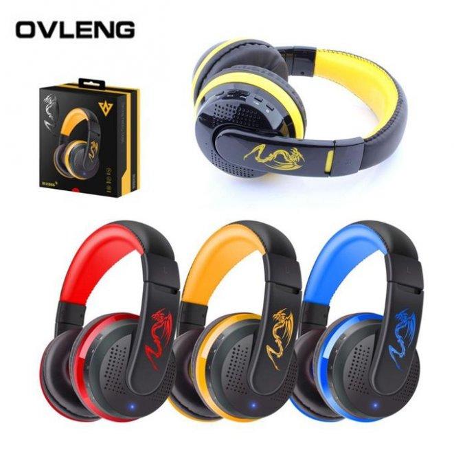 MX666 Bluetooth Headphones Stereo HIFI Wireless Earphones Bests Gaming Headset With Microphone