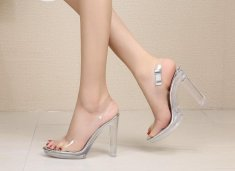 Transparent Heel