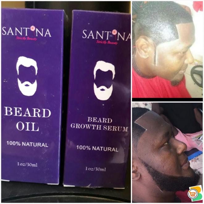 Santina Beard Growth Oil