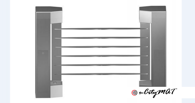 Security Automated Fence Swing Turnstiles Gates BY HIPHEN SOLUTIONS