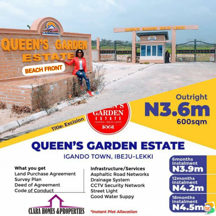 With As Low As N500,000 You can Own a Land at Ibeju Lekki - Call 08066840324