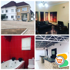 4 Bedroom Detached Duplex at Gwarinpa, Abuja - Call 09022976710