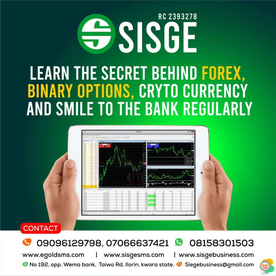 STAND OUT IN FOREX TRADING WITH SISGE