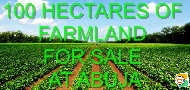 100 Hectares of Farmland For Sale at Abuja (Call or Whatsapp - 08160050555)