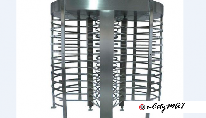 Automatic Turnstiles Security Gate Full Height BY HIPHEN SOLUTIONS
