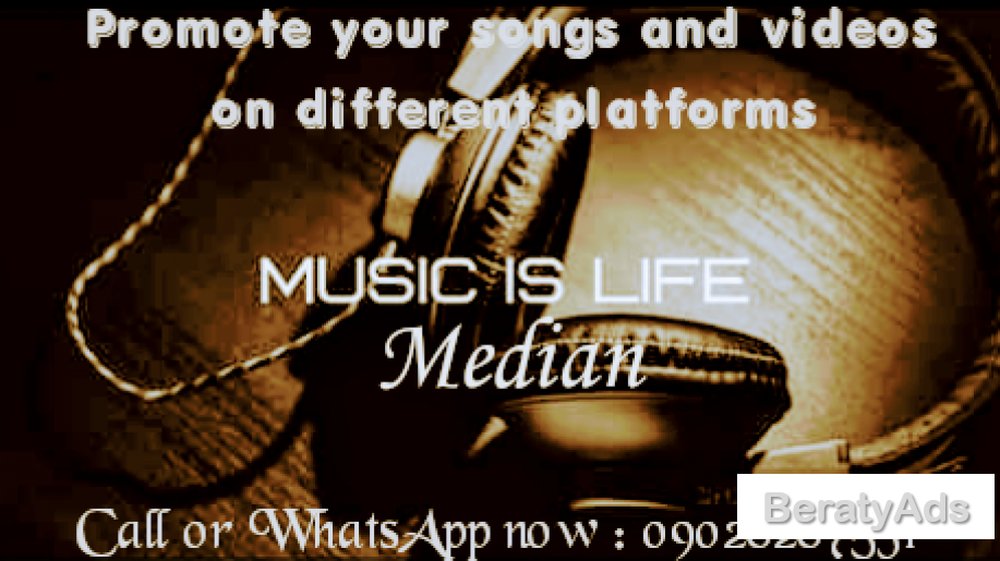 Promote your songs and videos with us on different platforms