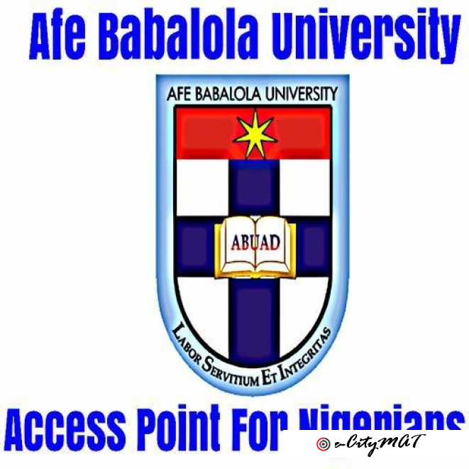 Afe Babalola University 2020/2021 (09059158007) ADMISSION FORM{POST UTME FORM,DIRECT ENTRY FORM} IS