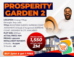 Plots of Land For Sale at Ibeju Lekki