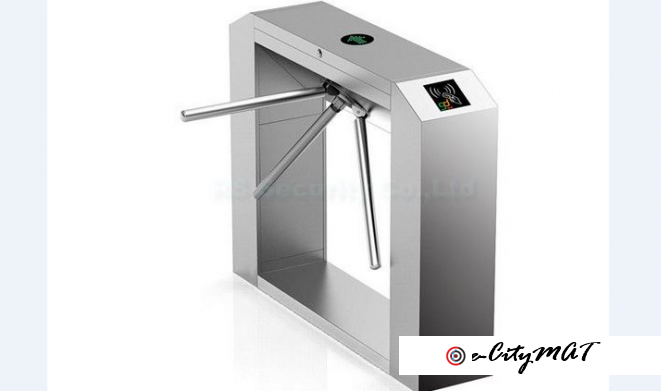 Automatic Double Lane Tripod Turnstile Gate BY HIPHEN SOLUTIONS
