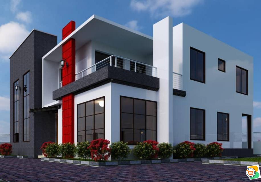 500sqm Land For Sale -  4 Bedroom Detached Duplex plus bq at Katampe
