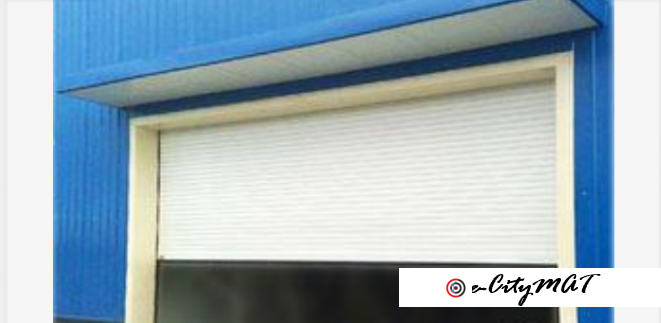Security Automatic PVC Roller Shutter Garage Door BY HIPHEN SOLUTIONS