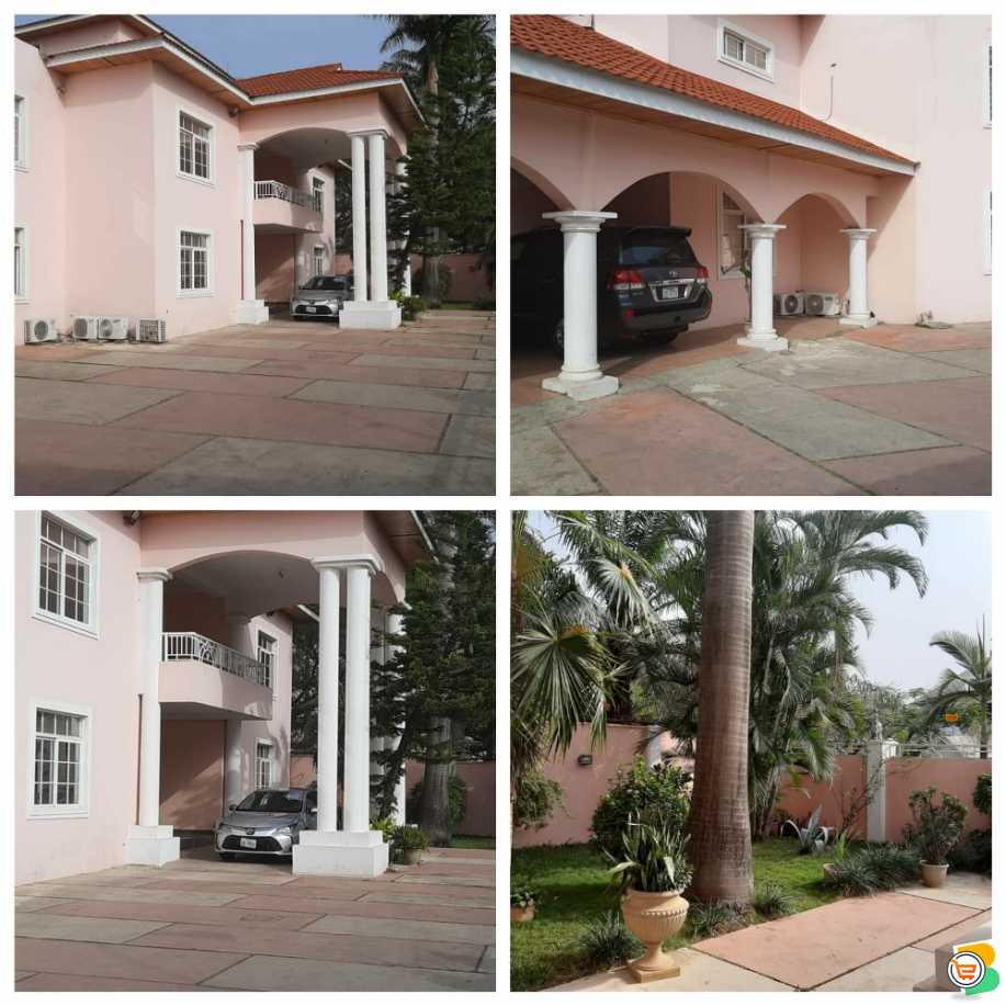 5 Bedroom Duplex WITH  Bq AND Guest chalet at Wuse 2 - Call 08176964956