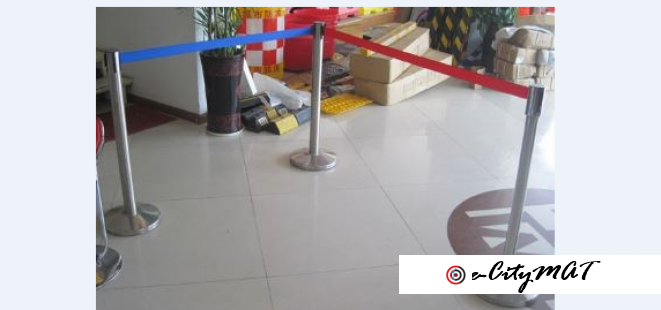 Barrier Stand BY HIPHEN SOLUTIONS