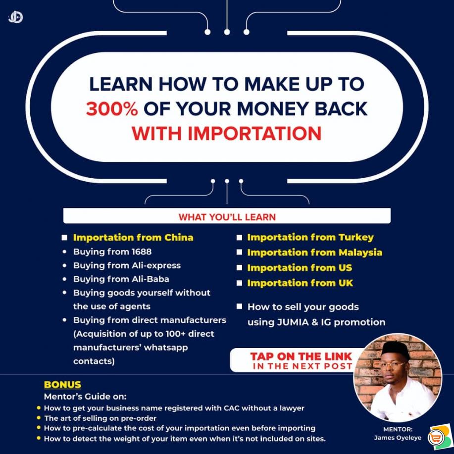 Importation course