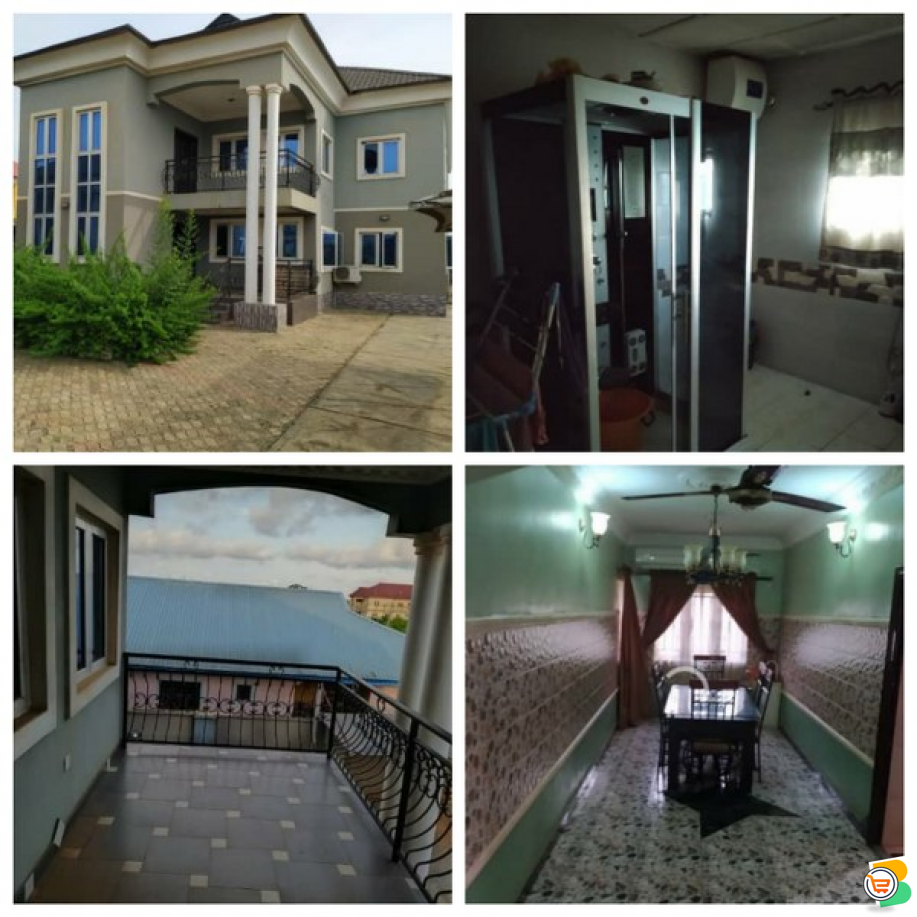 FOR SALE - 5 Bedroom Fully Detached House on 2 Floors with BQ at Professional Estate, Ikorodu