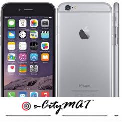 Apple IPhone 6 4.7 Inch 1GB + 32GB 8MP + 1.2MP Finger Sensor 4G LTE Smartphone (Free Gift) – Grey