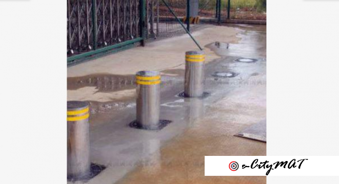 Automatic Fold Down Hydraulic Bollards BY HIPHEN SOLUTIONS