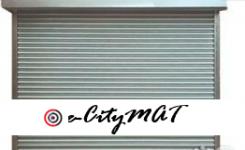 Motorised Metal Roll Up Garage Door BY HIPHEN SOLUTIONS