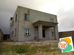 A 90% completed 3 Bedroom Duplex with a 2 Bedroom Flat attached on a full plot of Land For Sale