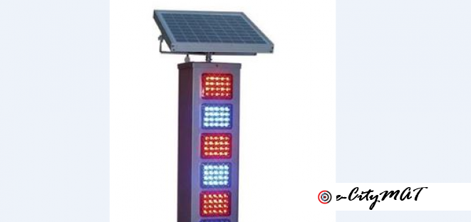 Solar Warning Lights BY HIPHEN SOLUTIONS