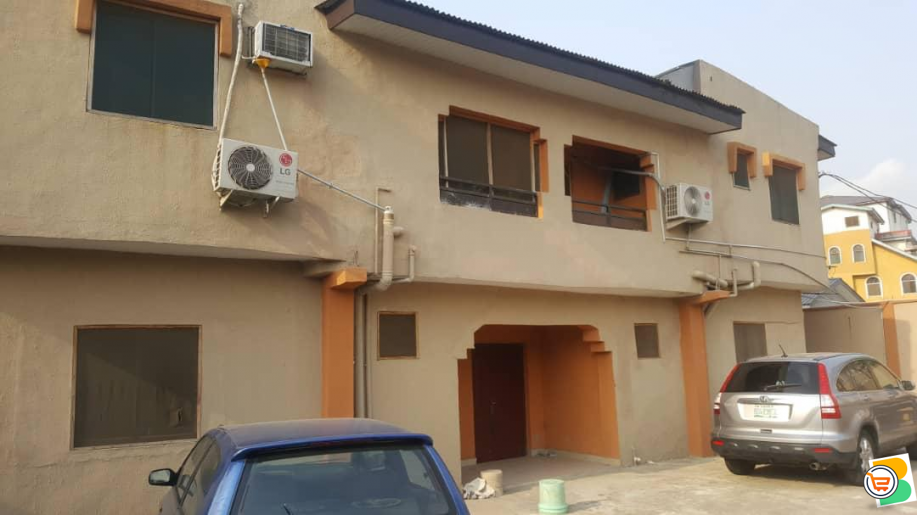 FOR SALE - Block of 4 Flats at Oregun, Lagos (Call or Whatsapp - 08060398883)
