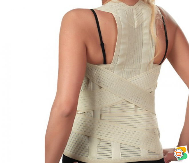 Elastic dorsolumbar corset IN NIGERIA BY SCANTRIK MEDICAL SUPPLIES