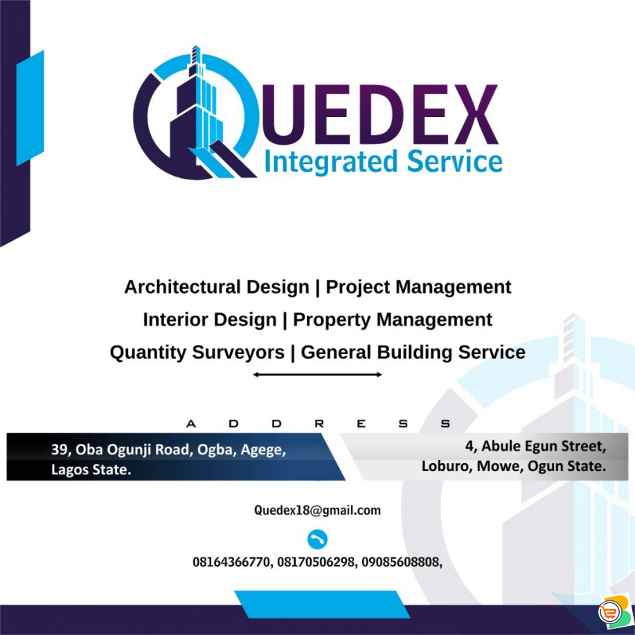 Architectural Design & Building Services - call 08164366770