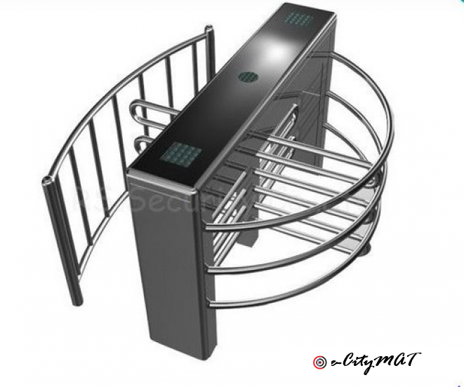 Single Sliding Fence Access Control Automatic Turnstiles BY HIPHEN SOLUTIONS