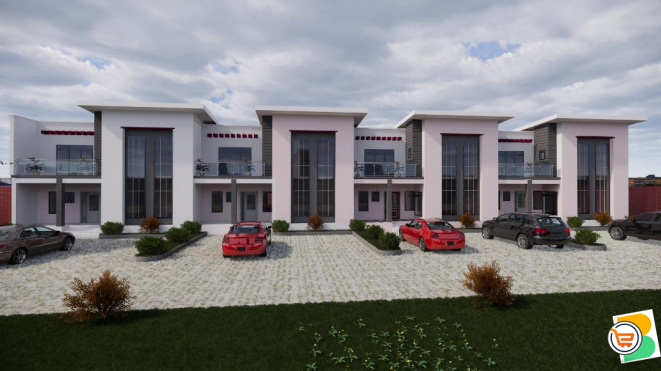 4 Bedroom Terrace Duplex Carcass For Sale at Lifecamp, Abuja