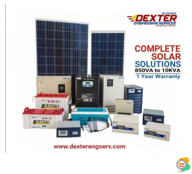 Solar And Inverter Systems, Supply And Installation