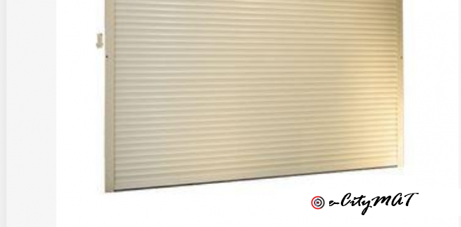 Durable Polyurethane Transparent Roller Shutter Door BY HIPHEN SOLUTIONS