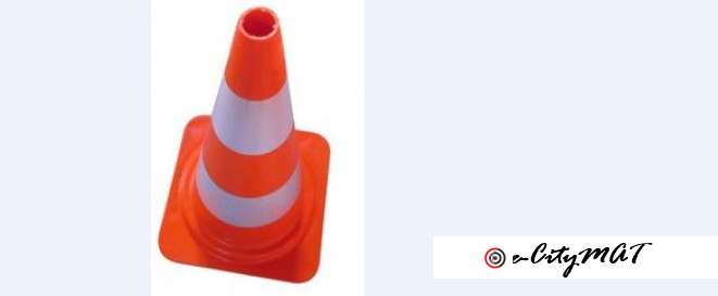 Roadway Traffic Cone BY HIPHEN SOLUTIONS