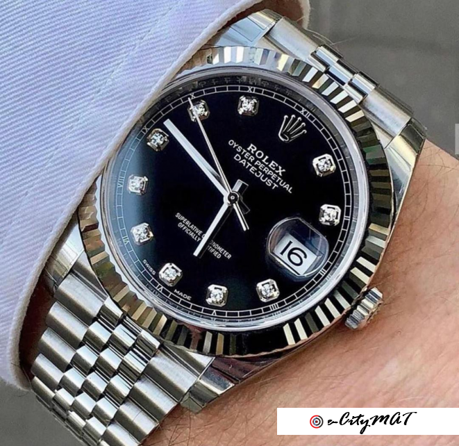 Rolex is one designer you can trust. #35,000
