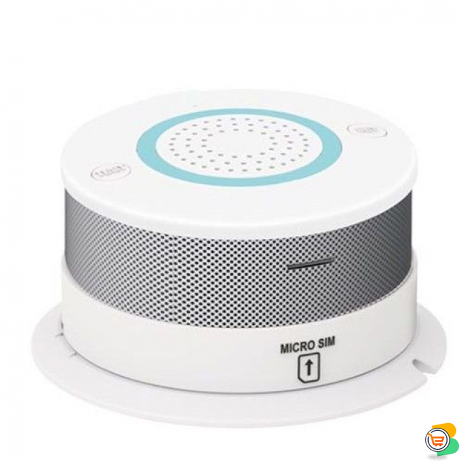 GSM Smart Smoke Detector - Calls your number if there's a gas leak or fire in your home