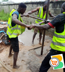 Borehole and pilling drilling work