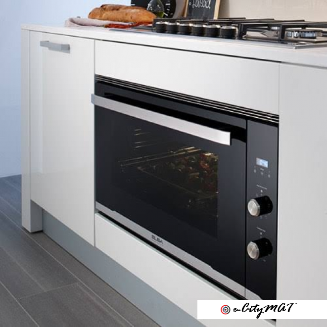 Inbuilt Cooker And Kitchen Hood