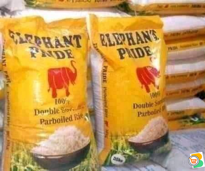 Good auction bag's of rice