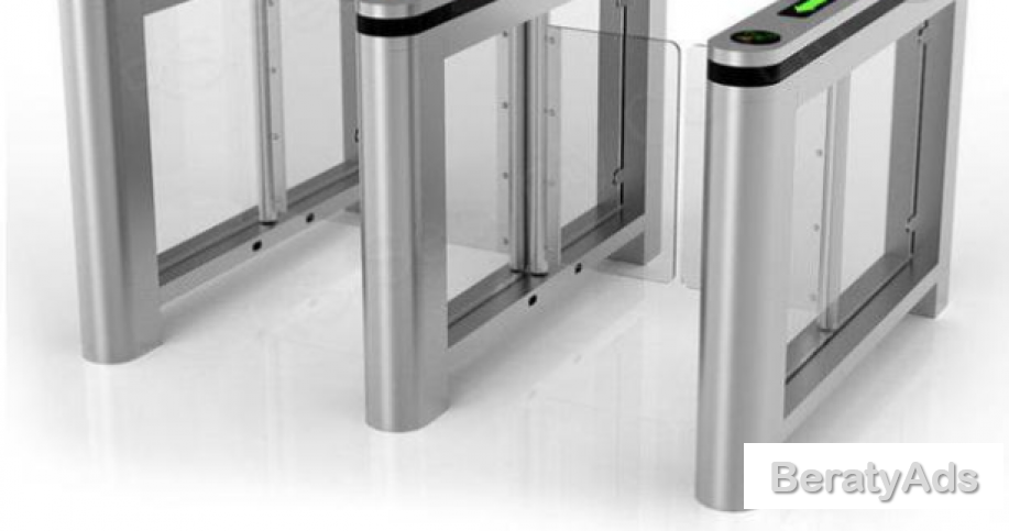 RFID Card Reader Fastlane Security Swing Gate Control System BY HIPHEN SOLUTIONS