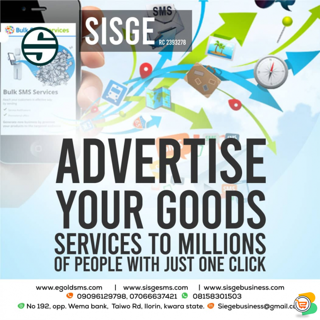 SISGE SUBSCRIPTION SERVICES - BULK SMS/AIRTIME