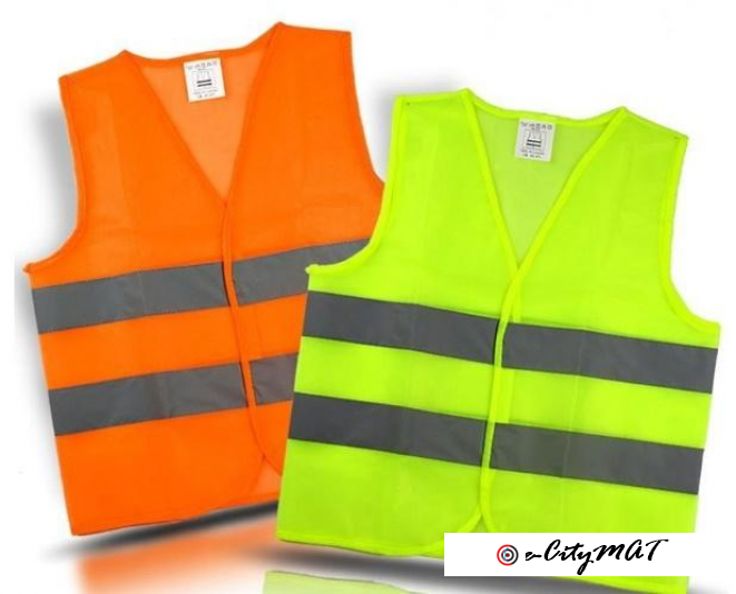 Visibility Working Safety Construction Vest Warning Reflective traffic working Vest Green Reflective