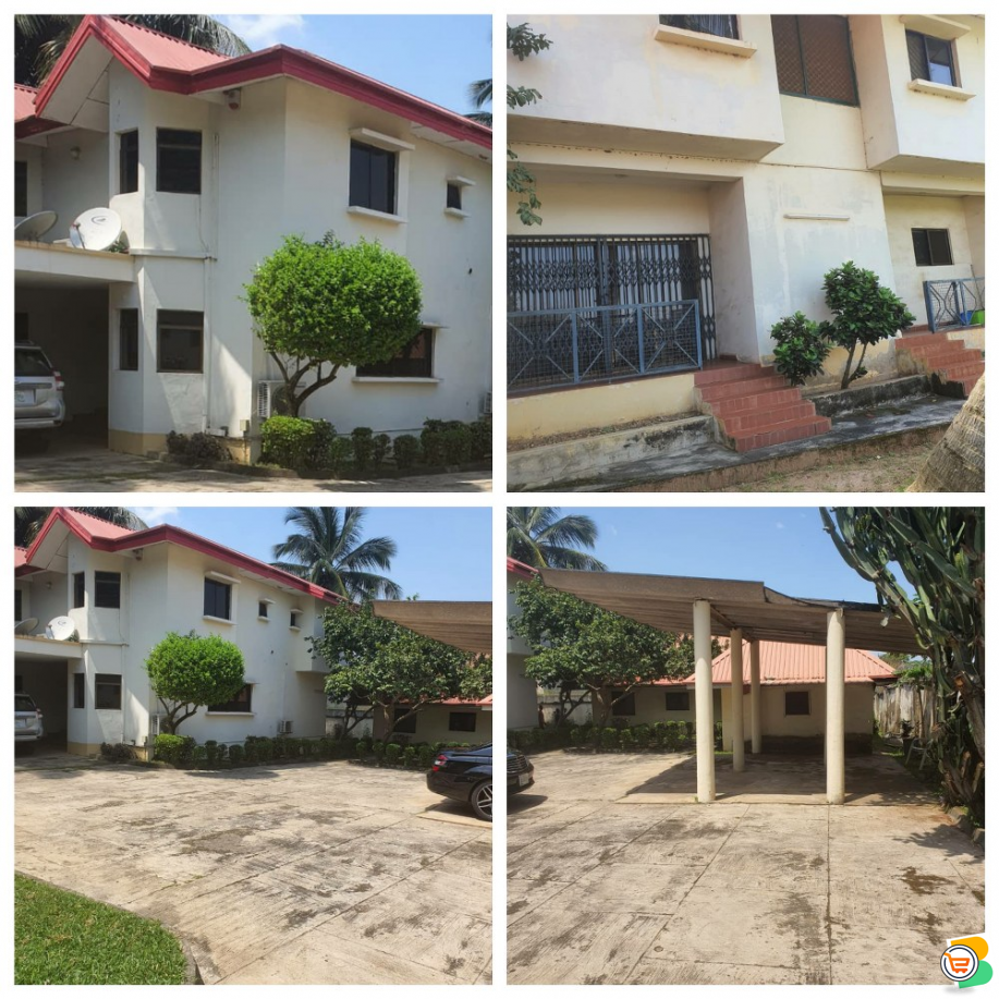 5Bedroom Duplex WITH Guest Chalet AND Bq at  Abuja - Call 08176964956