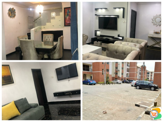 4 Bedroom Apartment with Two Sitting Rooms SHORTLET at IKEJA - CALL 07069012000