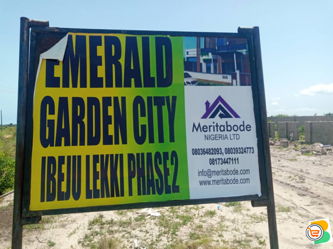 Plots of Land at Emerald Garden City Ibeju Lekki - Call 08066911987