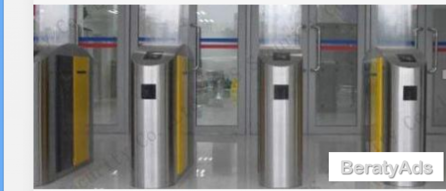 Flexible Biometric Speed Turnstile Flap Barrier Gate With Relay Signal BY HIPHEN SOLUTIONS