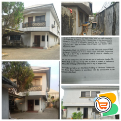 5 Bedroom Detached Duplex with 2 rooms BQ For Sale at Victoria Garden City