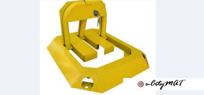 Parking Space Safe Lock by HIPHEN SOLUTIONS