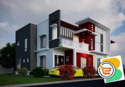 Land 750sqm - 5 Bedroom Detached Duplex plus 2 detached bq At Lifecamp (Call or Whatsapp)