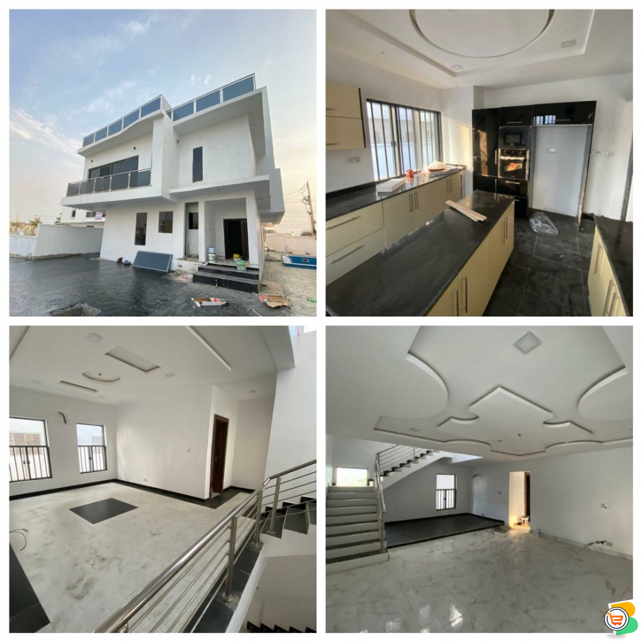 5 Bdr Fully Detached Duplex with Swimming pool for sale at Lekki  - Call 07056001917