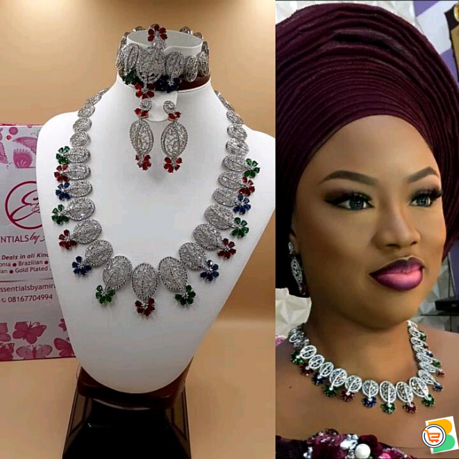 Get Your Zirconia Set From Us (Call OR WhatsApp - 08167704994)